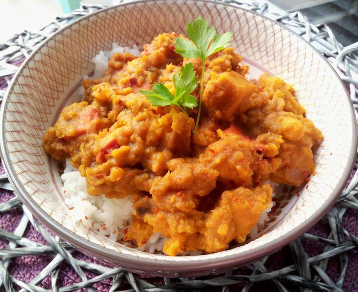 Rote Linsen-Curry mit Süßkartoffeln – Markus Gohlke