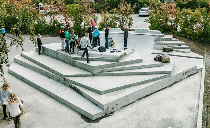 School playground by Kato x Victoria, Copenhagen