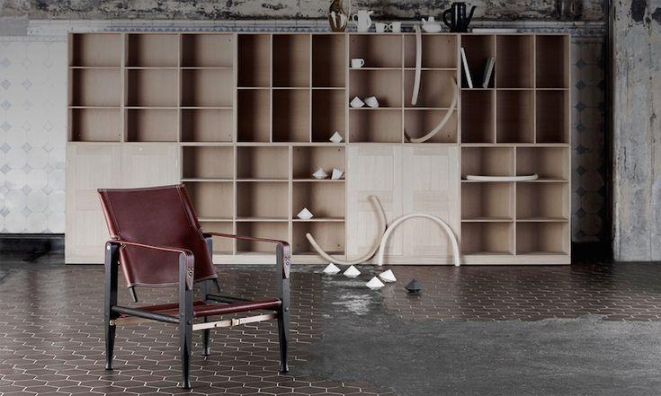Mognens Koch shelves   Danish Interior Design Budapest