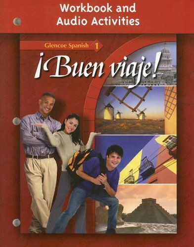 Download free ÂBuen viaje! Level 1 Workbook and Audio Activities Student Edition (GLENCOE SPANISH) (Spanish Edition) pdf