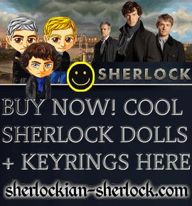 Sherlock Doll Keyring
