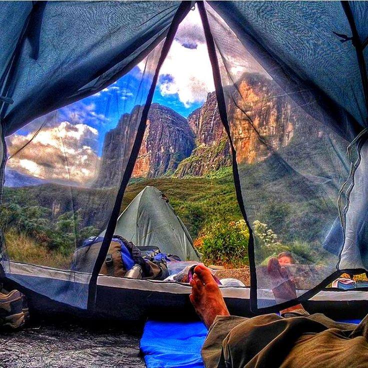 Me gustaría despertar todas las mañana con esta vista del Monte Roraima en Venezuela