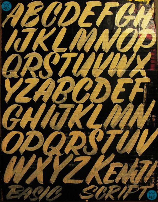 kenji-nakayama-sign-painter-font-basic-script-art-japan-boston-pin-striping2.jpg 600×770 pixels