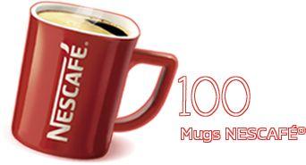 10 Mugs NESCAFÉ®