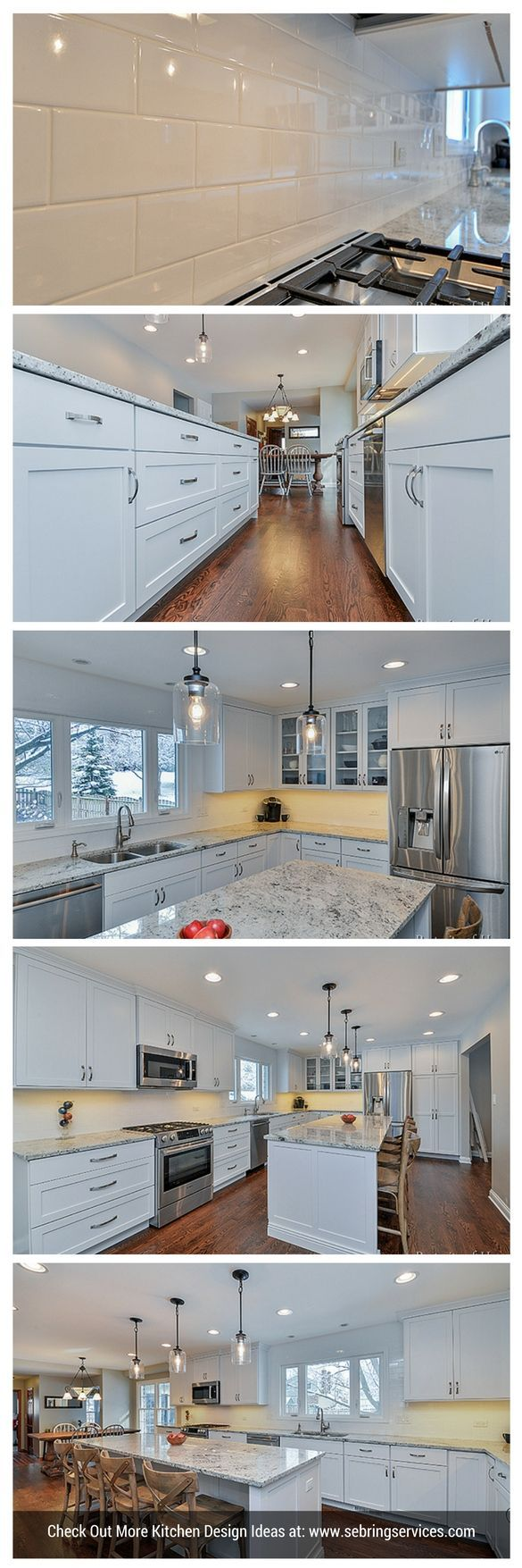 227 best Kitchen Transformations images on Pinterest