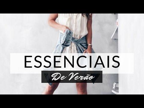 PEÇAS ESSENCIAIS DE VERÃO | GUARDA ROUPA FEMININO - YouTube
