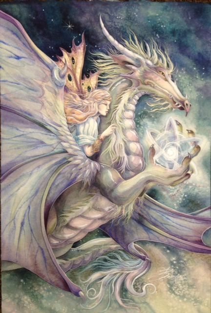 Where you believe there is magic... you will find it. #dragon #magic #fairy