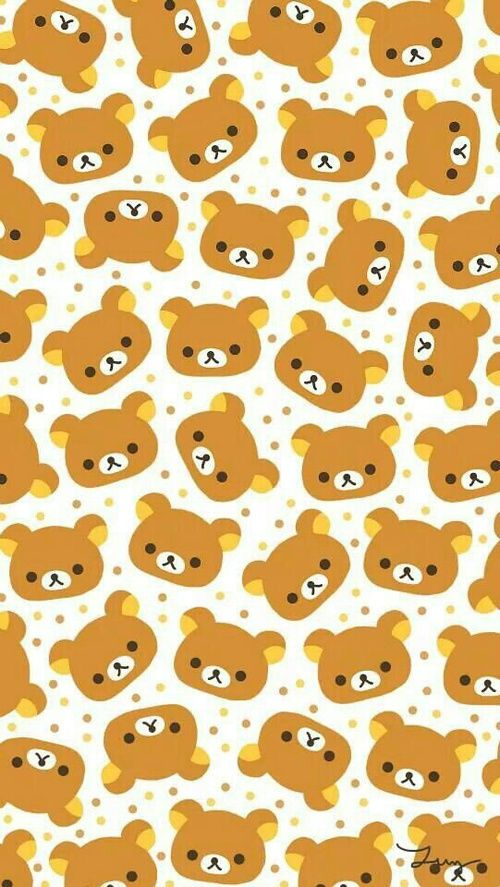 Wallpaper Rilakkuma And Background Image