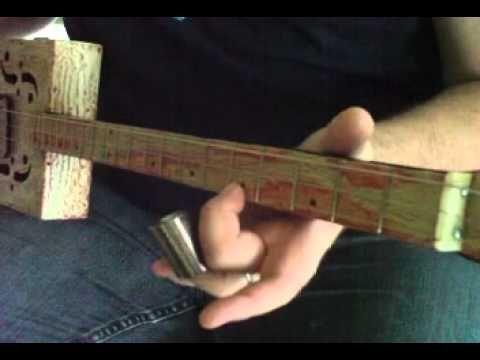 Seasick Steve 3-string secrets  - How to Play Cigar Box Guitar by Shane Speal