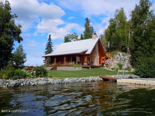 Log homes for sale in wasilla and palmer ak alaska real for Home builders alaska