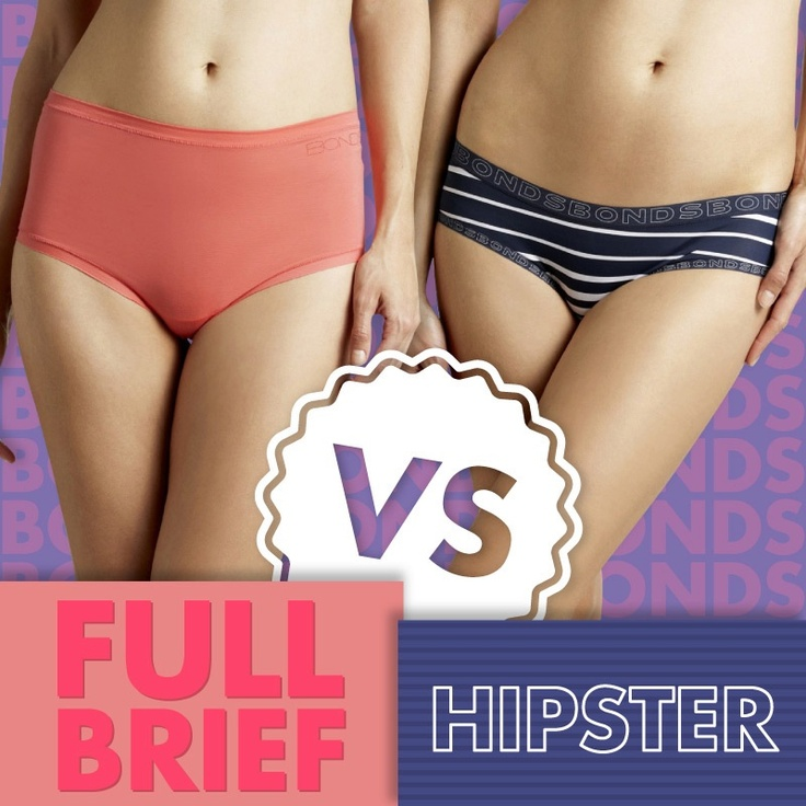 Battle of the Bonds undies! Full Brief Vs Hipster... which one are you?