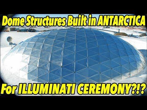 Dome Built in Antarctica for ILLUMINATI CEREMONY x Metallica Concert?!  ...