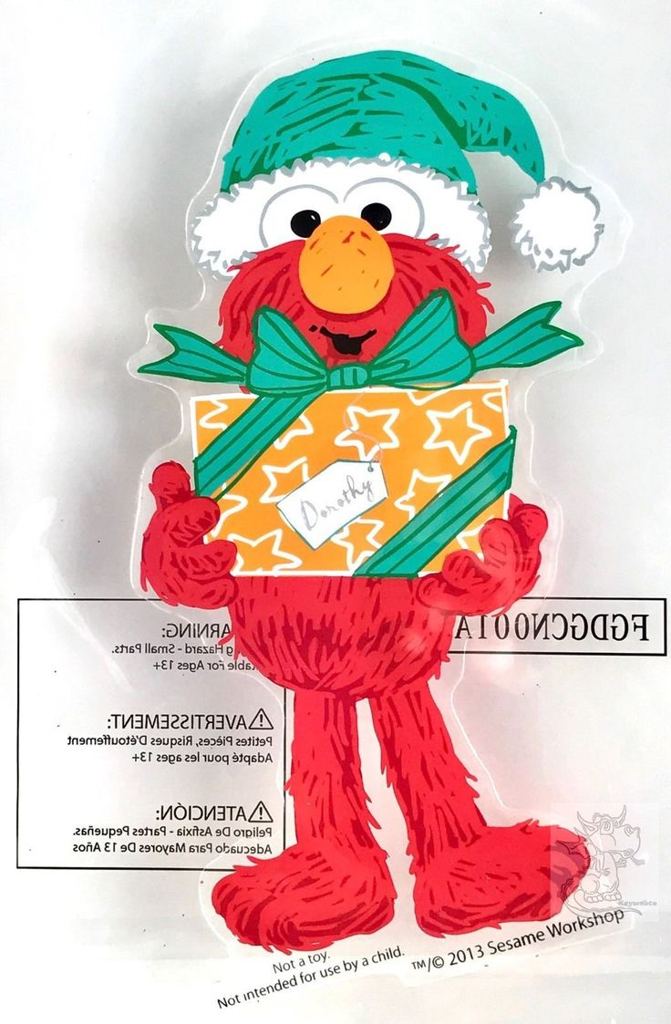New item today Elmo Christmas Sa... found at  http://keywebco.myshopify.com/products/elmo-christmas-santa-hat-gel-window-clings-new?utm_campaign=social_autopilot&utm_source=pin&utm_medium=pin