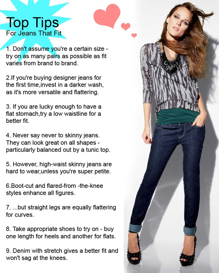 Top Tips For Choosing The Best Jeans Teenage Girls