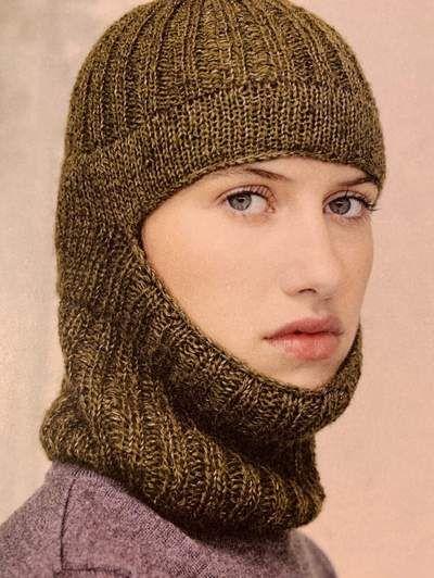 AGD 02 Einrúm Hat Balaclava Pattern | Knitting, Hats ...