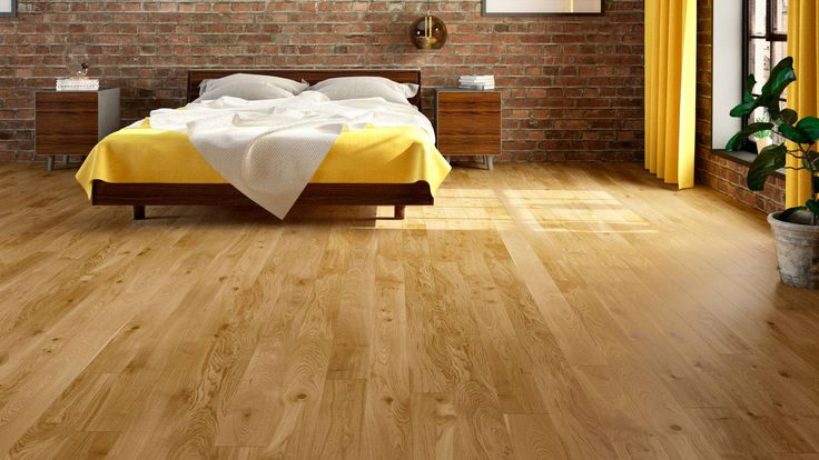 The satin lacquer finish on our Natura Oak Wexford gives it a beautifully smooth and elegant look. The rich, warm, golden hues of the grain will undoubtedly add a touch of class to any space. The wood has been chosen for its rustic features, including large knots, cracks and colour variation.