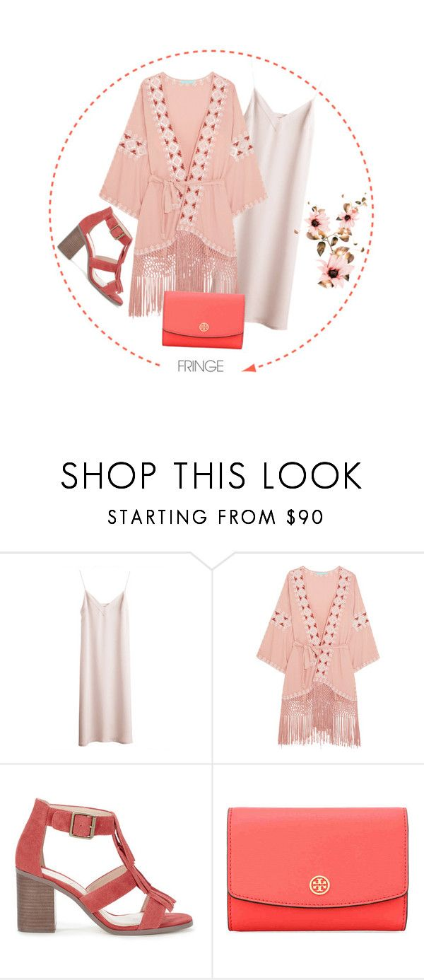 """""""FRINGE"""" by carmencherie ❤ liked on Polyvore featuring Melissa Odabash, Sole Society, Tory Burch, contest, fringe and contestentry"""