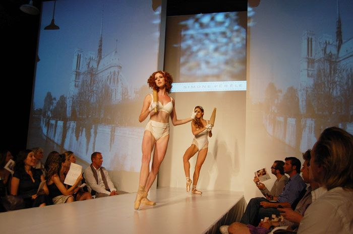 """Lingerie Française Paris hosted a runway show at Toronto's Wychwood Barns in 2010. The event, dubbed """"A French Rendez-Vous,"""" adopted a Paris... Photo: Courtesy of Lingerie Française Paris"""