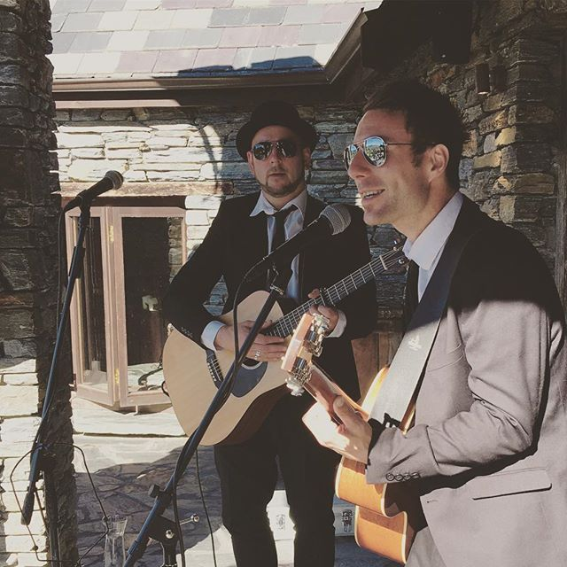Sweet harmonious Derek and Dominic. Why would you choose anything else for an afternoon wedding at stoneridge.  _______________________________________________________  Enjoying our pics? ❤️ Like, follow and comment! ❤️ Tell us what you want to see more of.  _______________________________________________________  Book us at our website : lasocial.co.nz   Follow our Facebook : lasocialclub   #weddingband #weddingmusic #queenstownnz #weddingbandqueenstown #queenstownweddings #wanakawedding...