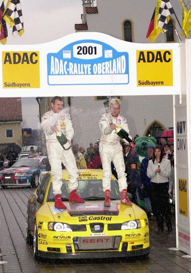 Matthias Kahle - Dieter Schneppenheim. SEAT Córdoba WRC. German Rally Championship 2001
