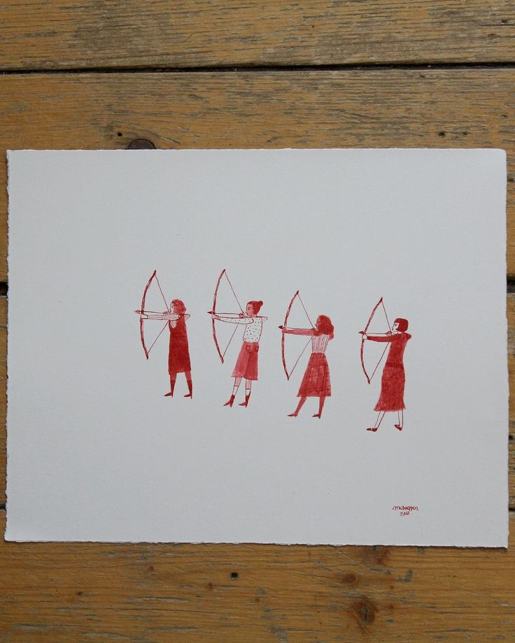 Pissed off Young Women via Madeline Kloepper Art