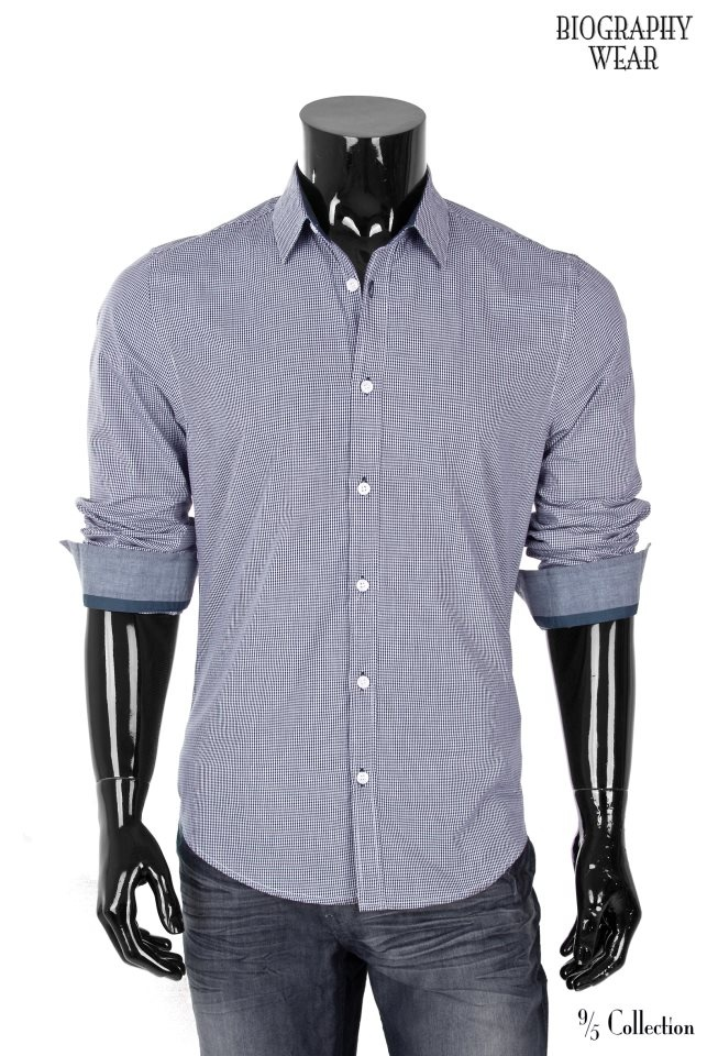 "5/11/12 - Give-Away for this week. Our Fitted/Checkered Button Down. ""like, comment, or share"" on our facebook fan page to participate. Contest ends Monday. Good Luck."
