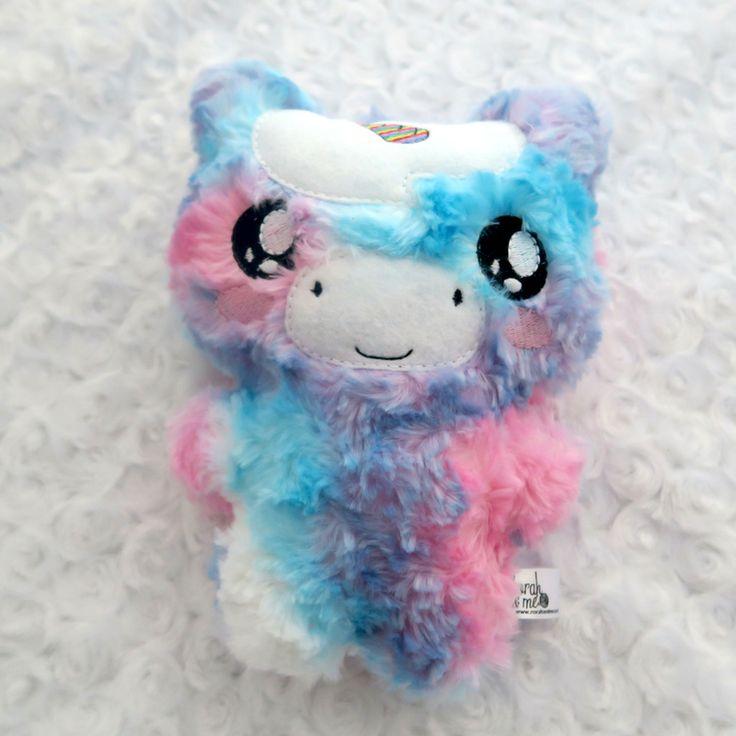 Cotton candy swirl unicorn