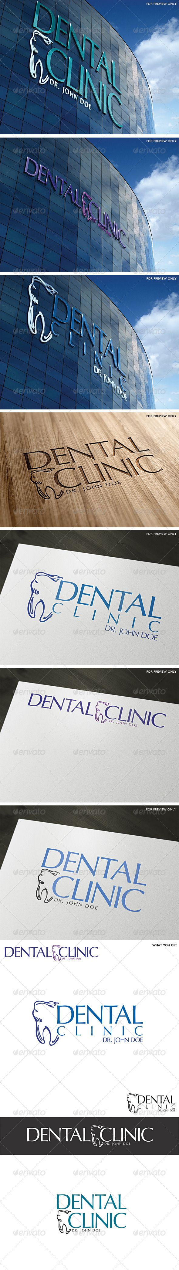 Dental Clinic Logo Template #GraphicRiver A modern fresh design, perfect for any dental business or company • Fully vector • Easy to edit text (link to fonts included in help file) • CMYK at 300DPI • AI and EPS files Note: The top 3D wall signs are for preview only should you need any further assistance, don't hesitate to contact me. Please take a moment to rate this item (: My Logo Designs NEW!!! 2012 London Olympics Flyer Template NEWEST PARTY FLYER* Unique Summer Drinks Flyer Template…