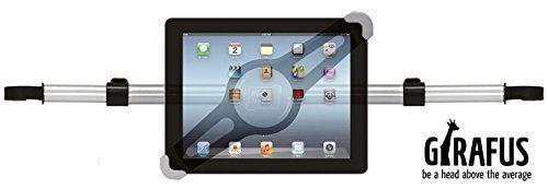 Girafus ®Relax H3 Universal Tablet Support appuie-tête de voiture pour banquette arrière 8 9 10″ pouces pour Ipad, Samsung Galaxy, HTC,…