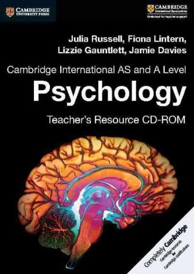 Cambridge International As and a Level Psychology Teacher's Resource