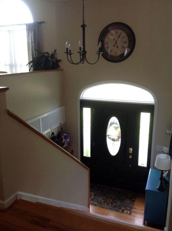 Foyer Cabinet Decor : Ideas about split level entryway on pinterest