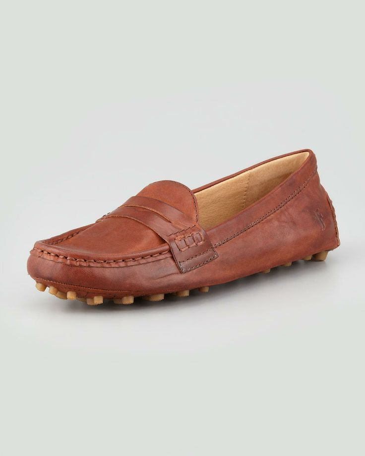 driving penny loafer