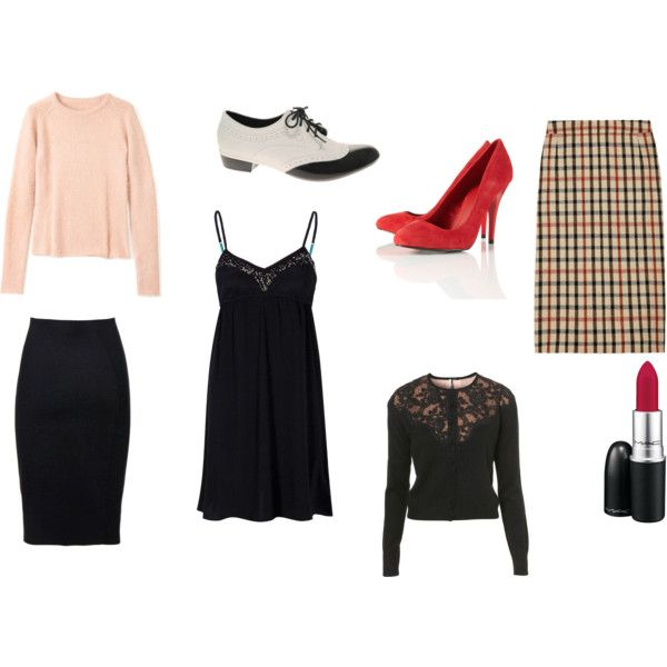 Audrey Horne (Twin Peaks) inspired outfits. <3