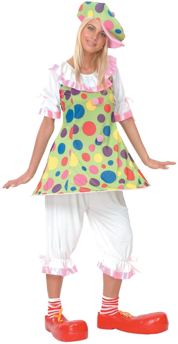 Les 25 meilleures id es concernant deguisement clown femme for Comidee maquillage halloween adulte