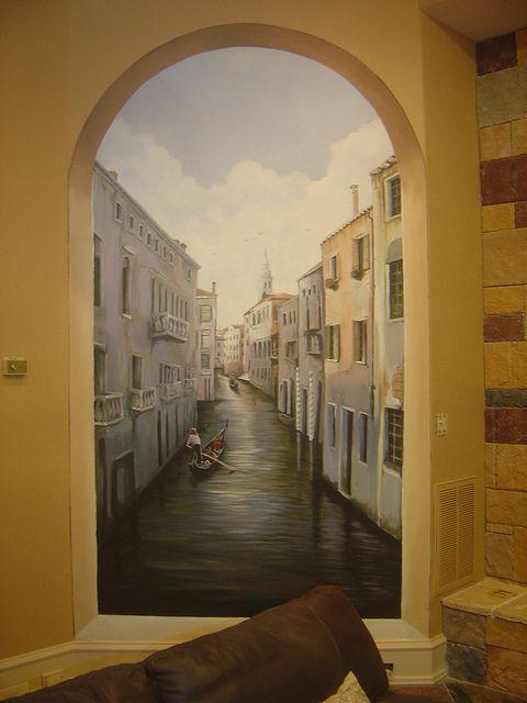 Custom Murals And Trompe Lu0027Oeil, Niches, Ceilings   Houston