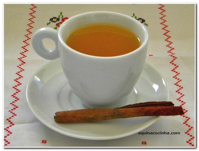 Chá de maracujá com canela Chá de Maracujá Com Canela