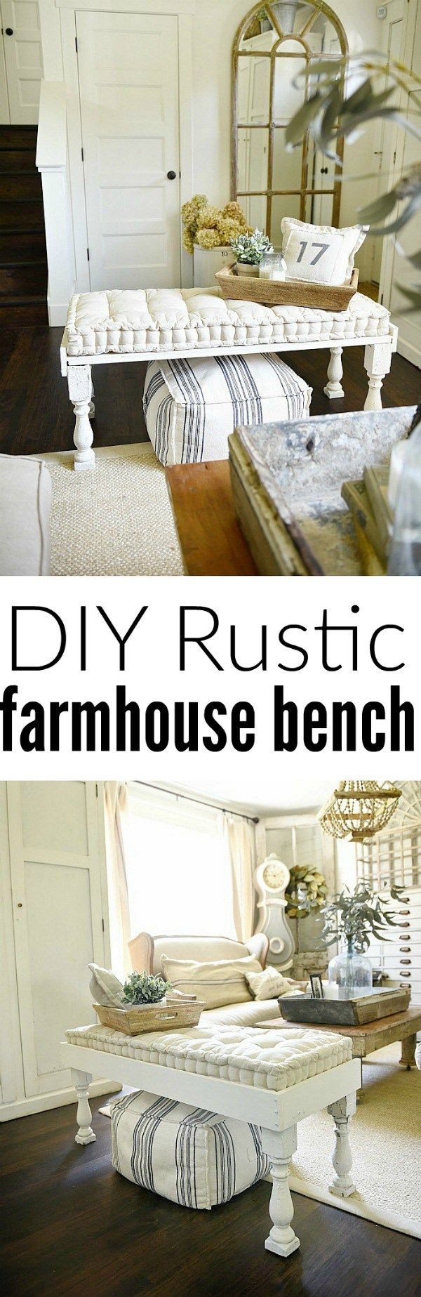 Best 25+ Bed end bench ideas on Pinterest | Bed end, White bedroom ...