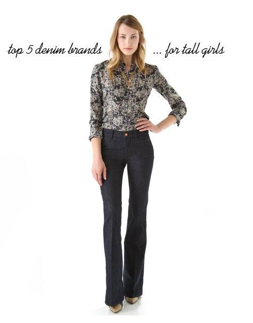 Denim Brands for Tall Girls: MiH Jeans, 7 for All Mankind, Joe's Jeans, Paige Denim, J.Brand