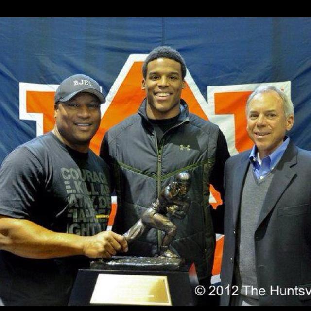 Three Heisman Winners from Auburn  Love these guys!
