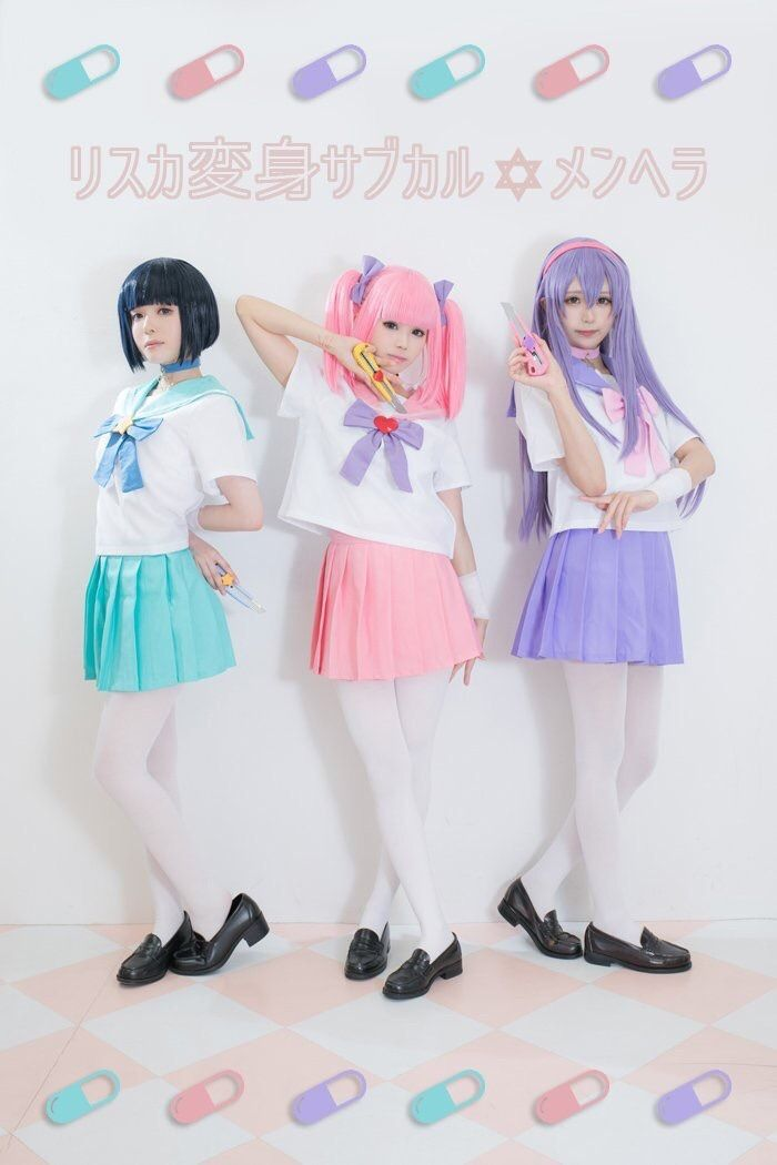 Wrist Cut Warriors Menhera Chan Cosplay In 2019 Pinterest