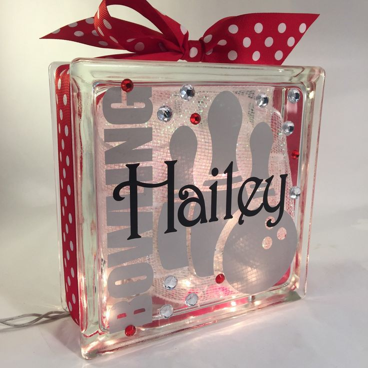 Bowling GemLight. Bowling Gift. Personalized by GemLights on Etsy https://www.etsy.com/listing/254313944/bowling-gemlight-bowling-gift