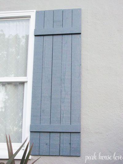 Board-and-Batten-Shutter #DIY