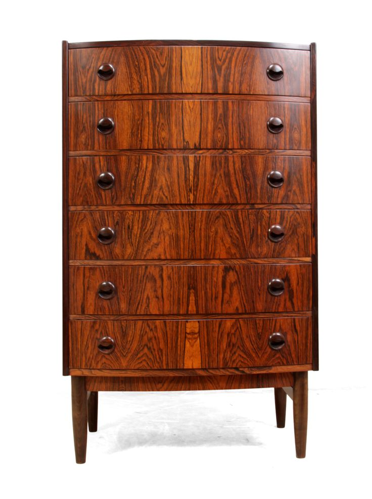 Mid Century Danish Chest of Drawers in Rosewood