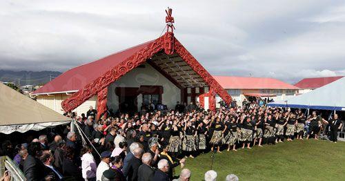 Powhiri for Willie Apiata VC at our marae in Te Kaha