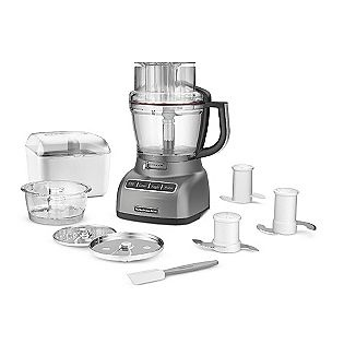 Food Processor, 13-c- KitchenAid to make soups, chop things, and to puree food for future baby Stephenson!Contouring Silver, Accessories Pack, Empire Red, Bonus Accessories, 13 Cups Food, Kitchenaid 13 Cups, Food Processor, Kitchens Aid, Kfp1333Cu 13 Cups
