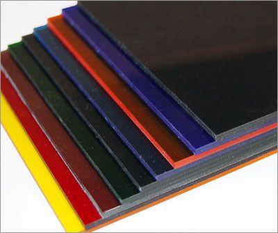 Cast Acrylic - Transparent Colors (Chemcast Acrylic Sheets)