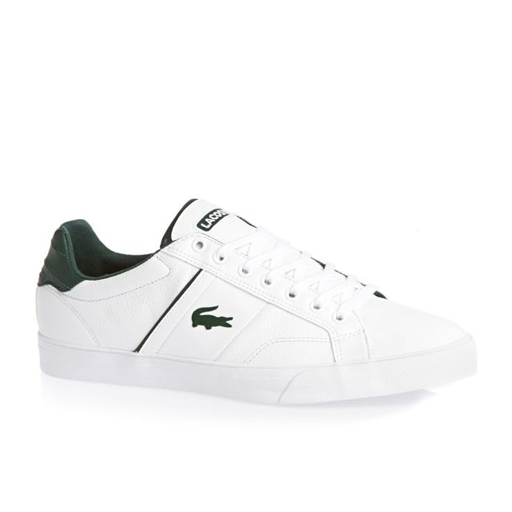 Lacoste Shoes - Lacoste Fairlead Rei Shoes - White