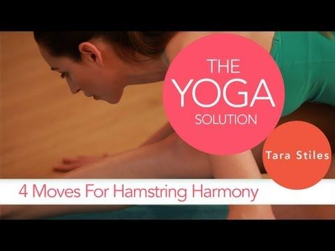 4 Moves for Hamstring Harmony | The Yoga Solution With Tara Stiles - yoga video