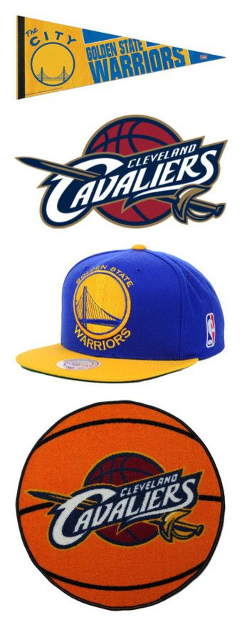 """Cleveland cavaliers vs.golden state warriors nba finals"" by mbobo ❤ liked on Polyvore featuring cleveland cavaliers, accessories, hats, nba hats, nba caps, snap back hats, nba snapback hats, cap snapback, home and rugs"