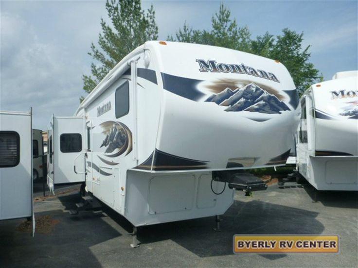 Used 2009 Keystone Rv Montana 3400 Rl Fifth Wheel At